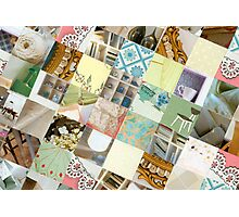 Collagecard: interior Photographic Print