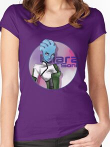 Liara is ♥ Women's Fitted Scoop T-Shirt