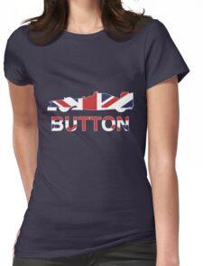 Jenson Button Union Jack Womens Fitted T-Shirt