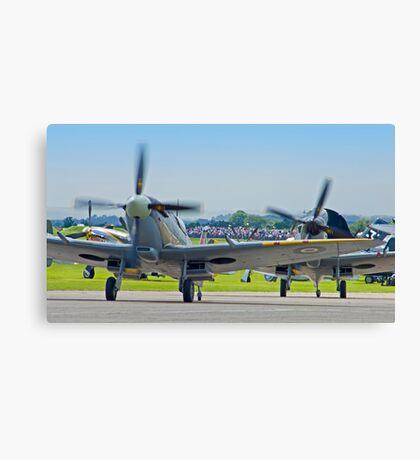 Duxford Spitfires !! Canvas Print