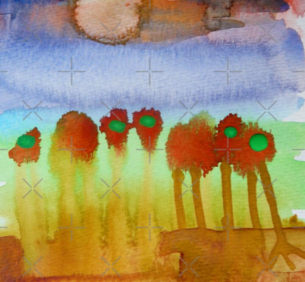 Wet Sun & Flowers by HeklaHekla