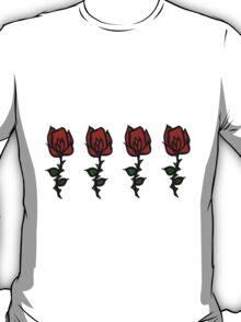 Four Rose Row T-Shirt