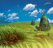 Windy Landscape by sorasabi