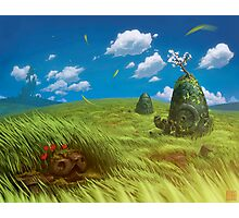 Windy Landscape Photographic Print