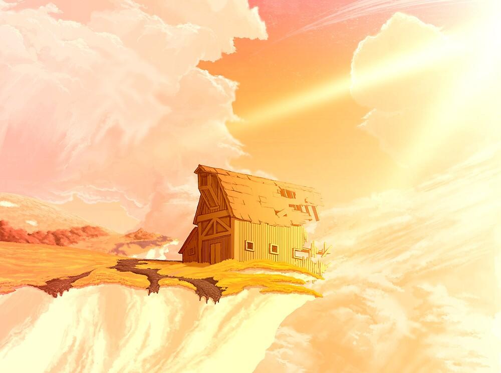 Chalk Cliff Barn by sorasabi