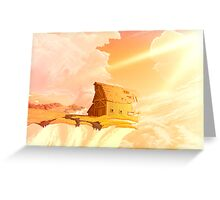 Chalk Cliff Barn Greeting Card