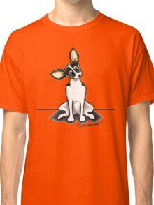 Rat Terrier Sit Pretty Classic T-Shirt