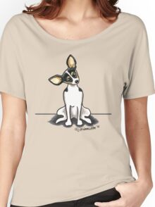 Rat Terrier Sit Pretty Women's Relaxed Fit T-Shirt