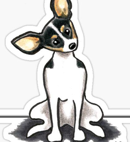 Rat Terrier Sit Pretty Sticker