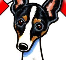 Rat Terrier :: First Mate Sticker