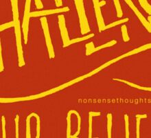 Challenge Your Beliefs Sticker