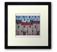 Robby Reigns Framed Print