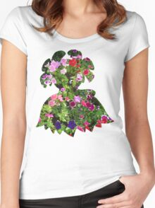 Bellossom used Petal Dance Women's Fitted Scoop T-Shirt