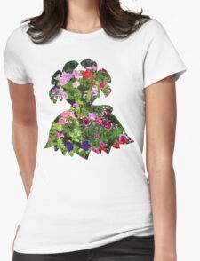 Bellossom used Petal Dance Womens Fitted T-Shirt