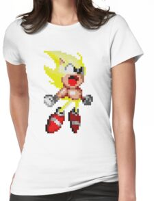 Super Sonic! Womens Fitted T-Shirt