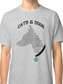 Cats & Dogs Classic T-Shirt