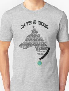 Cats & Dogs Unisex T-Shirt