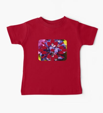 mainly blue flowers Baby Tee
