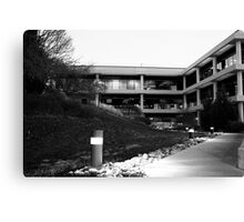 Building complex on the hill Canvas Print