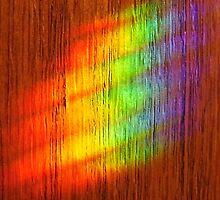 Rainbow On My Wall by WildestArt