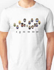 8-Bit LOST Unisex T-Shirt