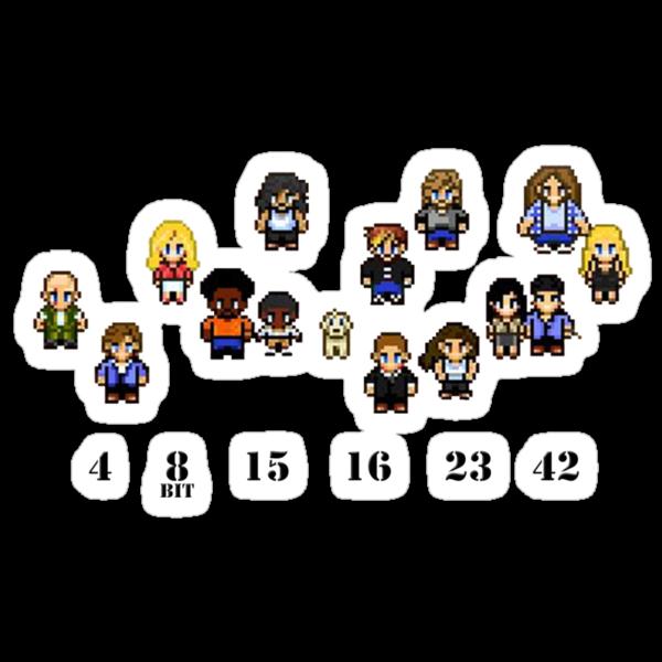 8-Bit LOST by gazzletron