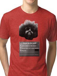 Reggie Watts - How To Be Cool Tri-blend T-Shirt