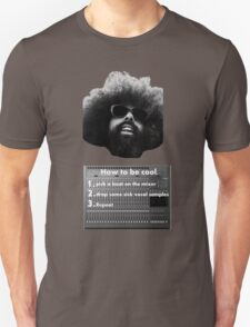 Reggie Watts - How To Be Cool T-Shirt
