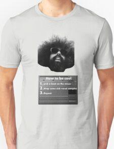 Reggie Watts - How To Be Cool Unisex T-Shirt