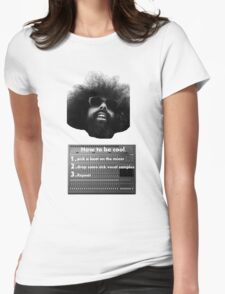 Reggie Watts - How To Be Cool Womens Fitted T-Shirt