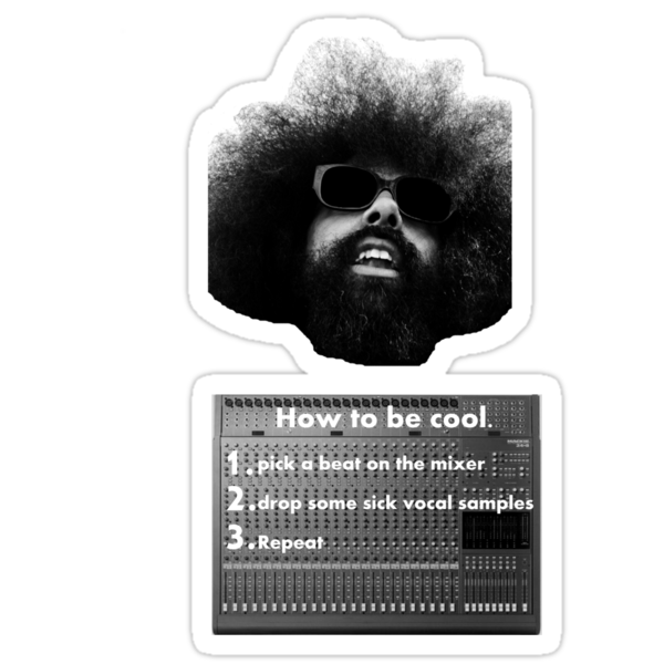 Reggie Watts - How To Be Cool by Veem
