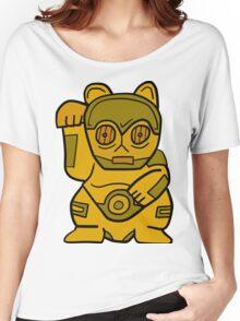 LUCKY CAT-3PO Women's Relaxed Fit T-Shirt