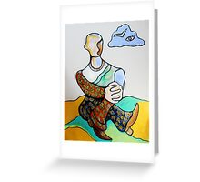 Spy in the Sky... Fool on the Hill Greeting Card