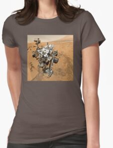 NASA's Curiosity Self-Portrait Womens Fitted T-Shirt