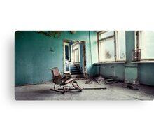 Chernobyl - лікарня III Canvas Print