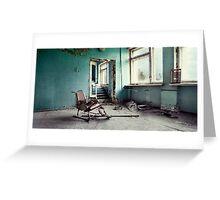 Chernobyl - лікарня III Greeting Card
