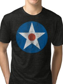 US Army Air Corps Star Tri-blend T-Shirt