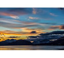Sunset Loch Linnhe Photographic Print