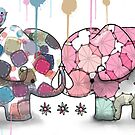 elephant confection by © Cassidy (Karin) Taylor