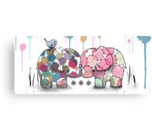 elephant confection Canvas Print