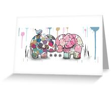 elephant confection Greeting Card