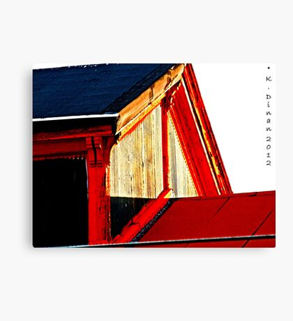 Philly Roof Canvas Print