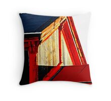 Philly Roof Throw Pillow