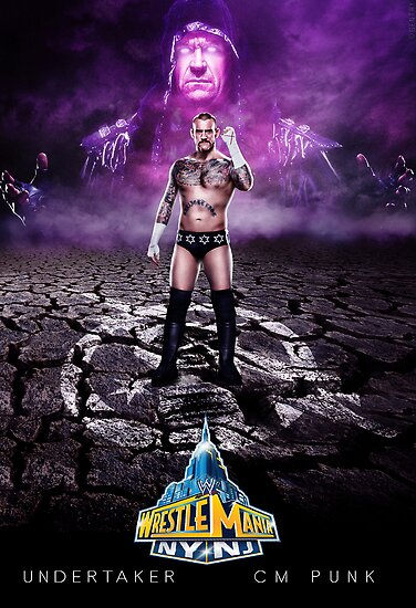 Wrestlemania 29 - Undertaker VS CM Punk by Bucky Sentry