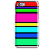 Bright Lines iPhone Case/Skin