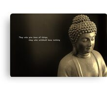 Words of Wisdom Canvas Print