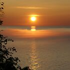 Morning Sunrise On Lake Superior 2 by Tina Hailey
