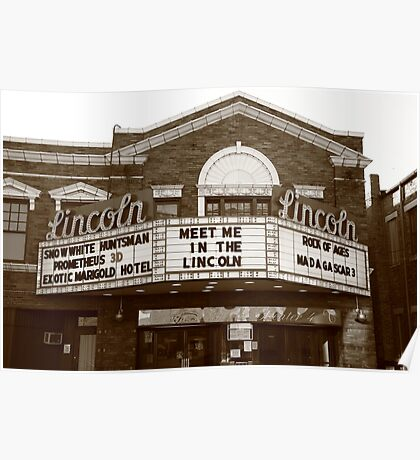 Route 66 - Lincoln Theater Poster