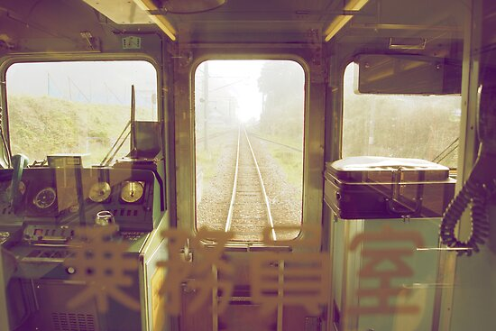 last train to paradise by parisiansamurai