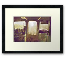last train to paradise Framed Print